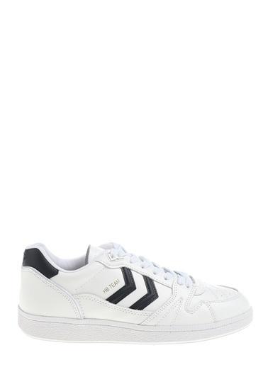 Hummel Ayakkabı Hb Team Leather 207773-9101 Beyaz